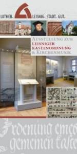 Flyer zur Dauerausstellung Luther-Leisnig-Stadt-Gut BILD